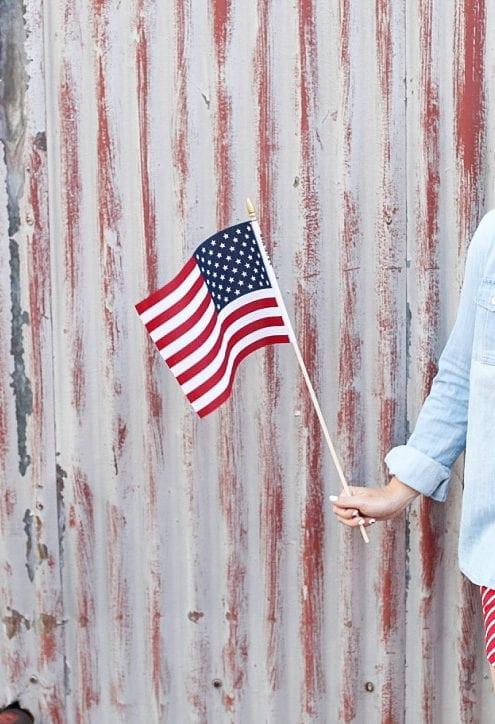 All white-stars-stripes-Fourth of July - Gigi New York - Star Spangled Banner-4